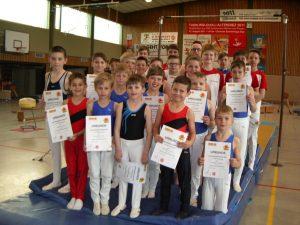 Qualifikanten für die Mittelrhein-Meisterschaft