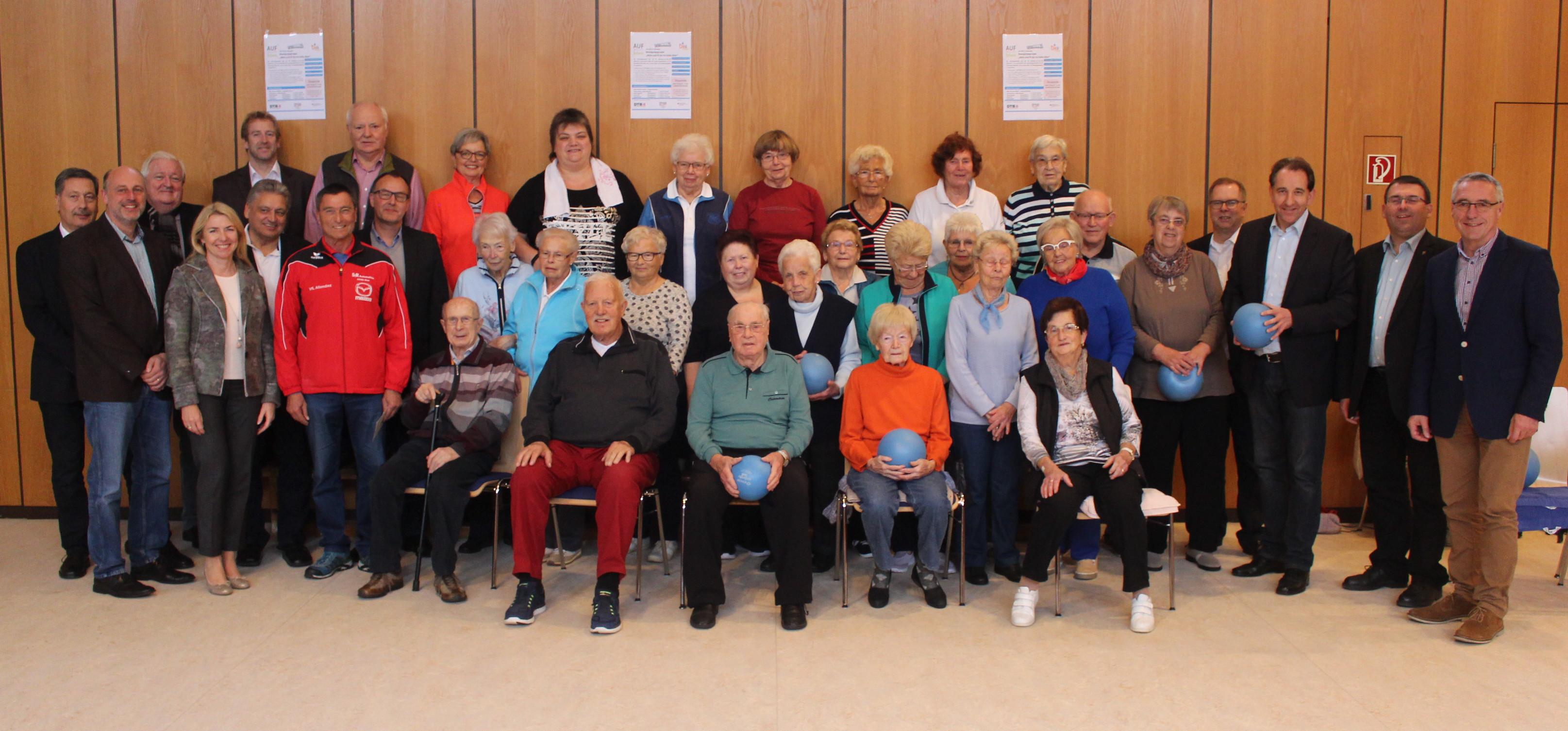 Fünf Jahre Senioren-Gymnastikgruppe 80+