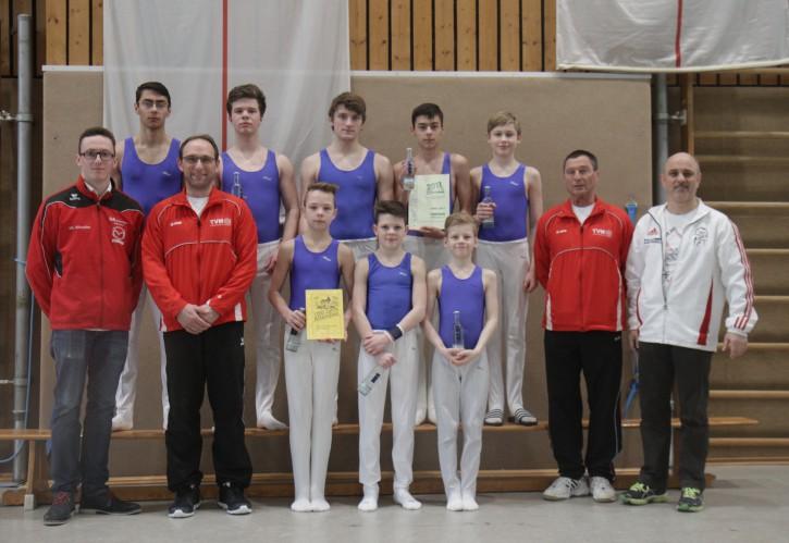 Wettkampf der Turner / Hessen Jugendlandesliga